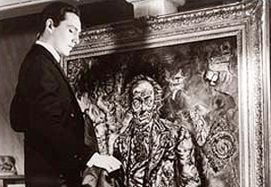 The Picture of Dorian Gray (1945) - still the best screen version. Dorian sells his soul to remain beautiful...