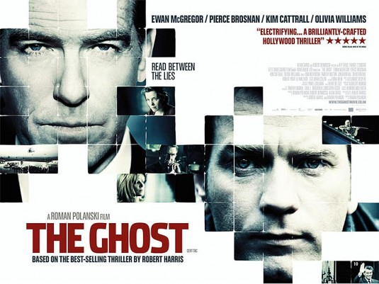 "Harris wrote the screenplay for Roman Polanski's film The Ghost. It's very good. ""Cherie"" doesn't come out of it too well"