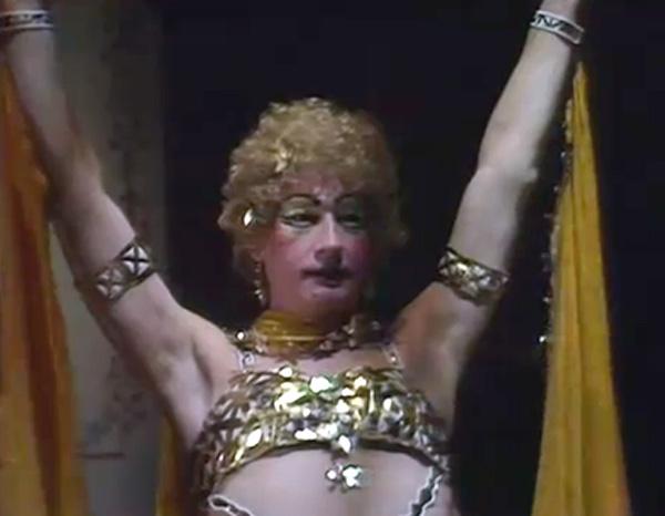 John Hurt in drag
