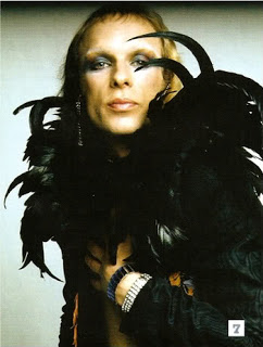 Brian Eno in the Roxy years,  dressed as... Lilith
