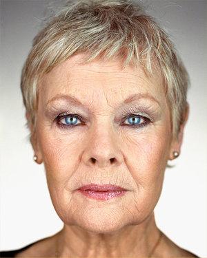 Judi Dench, born with Uranus in Aries square Pluto in Cancer