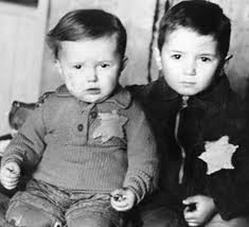 Due fratelli sul Kindertransport 1939.