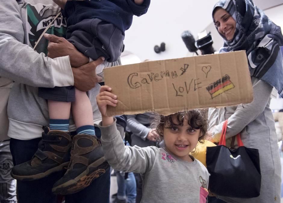 rifugiati (Foto: Jens Meyer / AP)